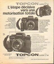 Publicité  ... TOPCON  super DM