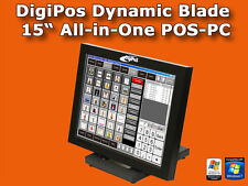 "Digi Pos Dynamic Blade | All-In-One Kasse | 38,7cm (15"") Touchscreen 
