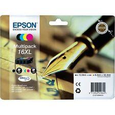 Epson Genuine T1636 16XL BK CMY Ink Multipack for WorkForce WF-2530WF WF-2540WF