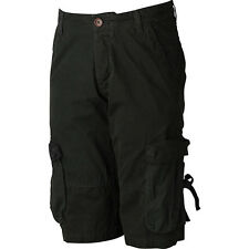 "adidas Originals Mens Cargo Shorts Size 31"" Black RRP £60 BNWT"