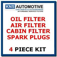 Corolla 1.4,1.6 (02-08) Oil,Pollen,Air Filter & Plugs Service Kit  t18p