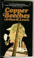 COPPER BEECHES by Lewis, rare US Sherlock Holmes related crime pulp vintage pb