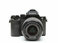 Camera Leather decoration sticker for Sony α7, α7R and α7S Leica type 4008 Black