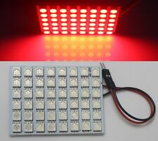 1X Red 48 5050 SMD LED Panel Light t10 Festoon Dome Adapter Bulb Lamp 12V DC