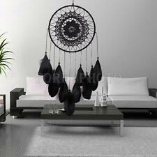Large Dream Catcher With Feather Car Wall Hanging Decoration Decor Bead Ornament