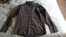 Boys Next Checked Long Sleeved Shirt Age 12 years