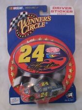 Jeff Gordon #24 Dupont Driver Sticker 1/64 scale Winners Circle car