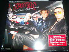 NSYNC (Justin Timberlake) Gone Clubbin / Girfriend Remix Australian CD Single
