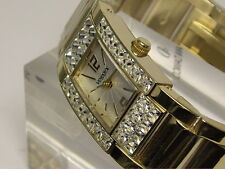 RELOJ VENDOUX MUJER ACERO DORADO SWAROVSKI Md19050 WOMENS NEW STEEL WATCH 30 M