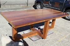 local made solid Blackwood Dining Table 2400w Custom Made Available.
