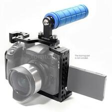 Andoer DSLR Camera Cage Rig w/ Top Handle Grip for Panasonic Lumix GH3 GH4 K9C5