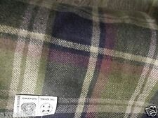 3mt Scottish wool tartan  fabric material for coats and suits 150cm wide