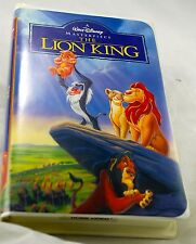 WALT DISNEY The Lion King VHS 1995 Masterpiece  Collection  EUC