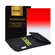 ZOMEI 150x100mm Red Color GND Gradual Filter For Cokin Z PRO Camera Filter
