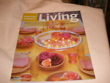 Martha Stewart Living July 2004 Great Party Ideas Magazine Salads Recipes + more