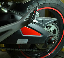Ducati Monster 696 Glossy Red Rear Suspension cover pad protector trim