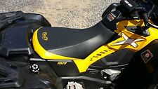 CAN-AM OUTLANDER 1000 XMR YELLOW STIICHING GRIPPER  seat cover 2012 & UP