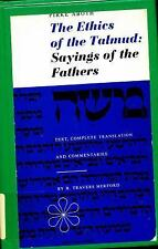 Pirke Aboth, The Ethics of the Talmud: Sayings of the Fathers (Text, Complete Tr