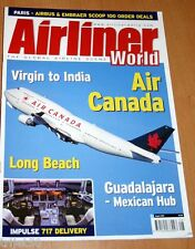 Airliner World 2001 August Air Canada,Impulse B717,Norwich,Virgin 747