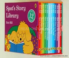 SPOT's Story Library 12 Story Book Set Collection Box Set Eric Hill New Spot NEW