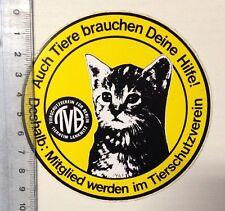 ADESIVI/Sticker: TVB-Protezione degli animali club-anche gli animali hanno bisogno di aiuto (01031655)