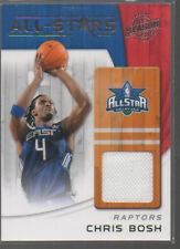CHRIS BOSH 2010-11 PANINI SEASON UPDATE ALL-STARS JERSEY CARD #5