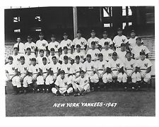 1947 NEW YORK YANKEES 8X10 TEAM PHOTO BASEBALL MLB PICTURE NY