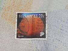 used Singapore Stamp - 20 cent coral series *Free Postage