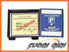 PORTA ASSICURAZIONE CON DISCO AUTO 65343
