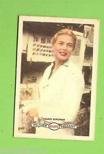 #D160. 1958-64  ATLANTIC PETROLEUM FILM STARS CARD #28  INGRID BERGMAN