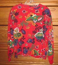 Vintage United Colors of Benetton 80s 90s Womens Medium Pop Art Kei Retro Shirt