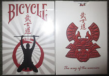 Bicycle Bushido Challenge Playing Cards - Limited Edition - SEALED