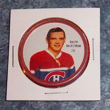 Shirriff  coins hockey 1962-63 # 26 Ralph Backstrom Montreal Canadians Holder
