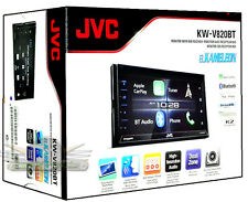 JVC KW-V820BT DVD/CD Touchscreen Bluetooth SiriusXM /Car Play Car Stereo