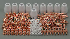 PT31 LG40 Plasma Electrodes Tips Nozzle Consumables Fit CUT40 CUT50 CT312 235pcs