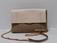 Ted Baker Color Block Leather Straw Crossbody Bag NWOT
