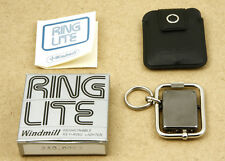 Windmill Ring Lite Keyring Metallic Lighter Japan New Old Stock