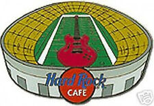 Hard Rock Cafe ONLINE 2001 FOOTBALL STADIUM Bowl GUITAR PIN
