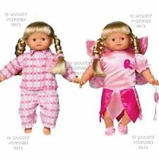 MY Little Baby Born Fairy & PYJAMA Twin Pack bambole VESTITI ABITI ZAPF CREATION