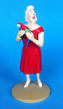 FIGURINE LA CASTAFIORE AU PERROQUET  collection officielle N°5  tintin figure