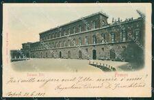 Firenze Città Palazzo Pitti cartolina XB2482