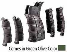 UPG16-S CAA Tactical OD Green 6 Piece Interchangeable Grip Made of Polymer