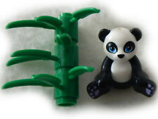 NEW LEGO PANDA MINIFIG with Bamboo from set 41049 Friends figure minifigure toy