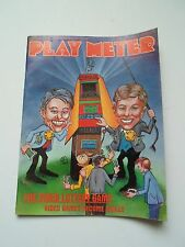 coin-op Amusements february 1.1985 Play Meter MAGAZINE