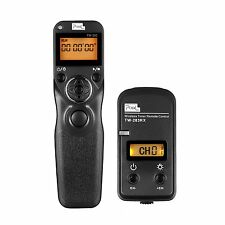 PIXEL LCD Wireless Timer Remote Control Shutter Release for Sony Alpha a6000 a7R