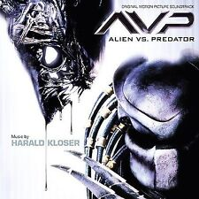 FREE US SH (int'l sh=$0-$3) NEW CD Harald Kloser: Alien Vs. Predator [Original M