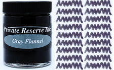 PRIVATE RESERVE - Fountain Pen Ink Bottle - GRAY FLANNEL -  66ml - New