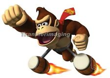 Mario Brothers Iron On Transfer Donkey Kong