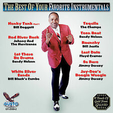 "THE BEST OF YOUR FAVORITE INSTRUMENTALS, CD ""ALL-TIME GREATS"" NEW SEALED"