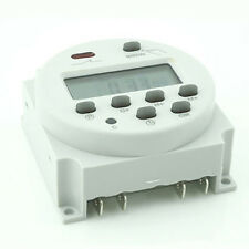 DC 12V Digital LCD Power Programmable Timer Time Switch
